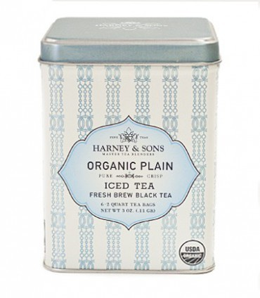 Harney & sons Organic Plain (Black) Iced Tea 6 sáčků