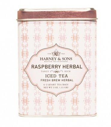 Harney & sons Raspberry Herbal Iced Tea 6 sáčků