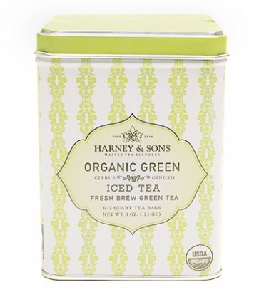 Harney & sons Organic Green Iced Tea with Ginko and Citrus 6 sáčků