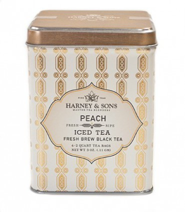 Harney & sons Organic Peach Iced Tea 6 sáčků