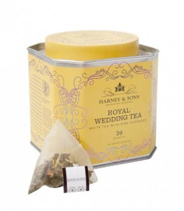 Harney & sons Svatební čaj Royal Wedding 30 hedvábných pyramidových sáčků